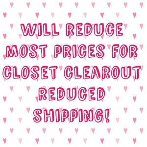 💕GET REDUCED SHIPPING-JUST ASK!💕